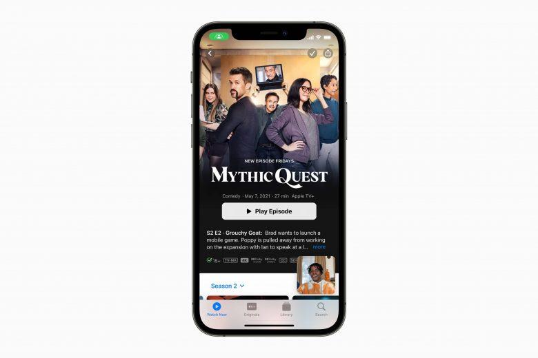 SharePlay en iOS 15