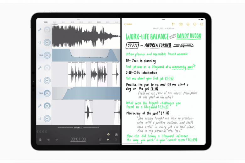 Split View en iPadOS 15