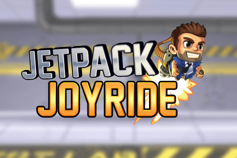 Barry Steakfries en Jetpack Joyride