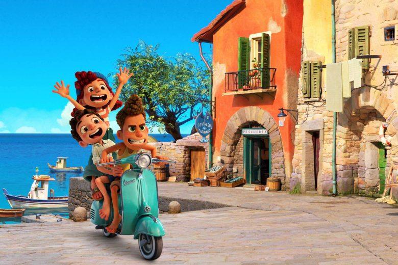 """Luca, Alberto y Giulia en """"Luca"""""""