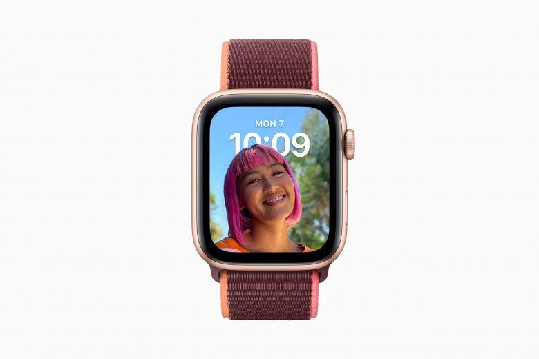 Cara de reloj Retratos en watchOS 8