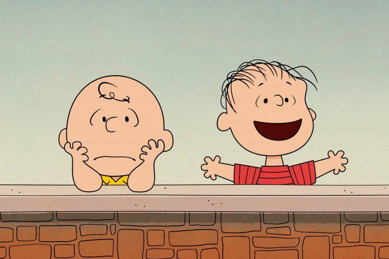 """Charlie Brown y Linus van Pelt en """"Who Are You, Charlie Brown?"""""""