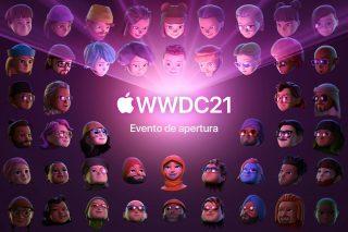 Evento e apertura de la WWDC21 de Apple
