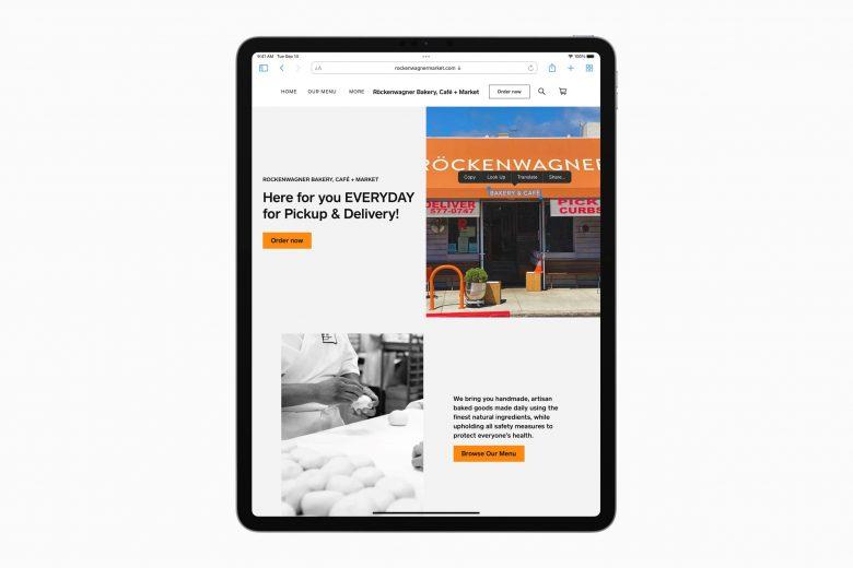 Live Text en iPadOS 15