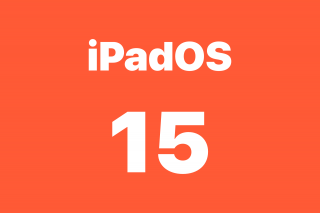 Actualización de software iPadOS 15