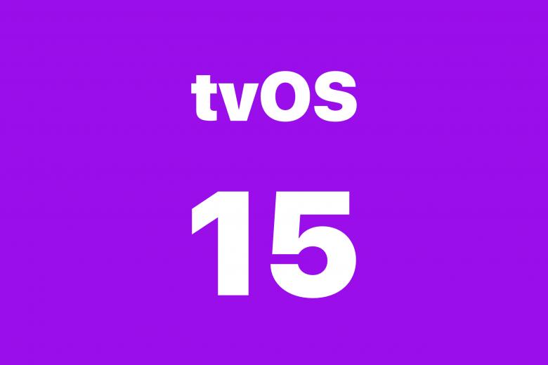 Actualización de software tvOS 15