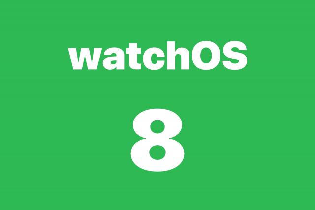 Actualización de software watchOS 8