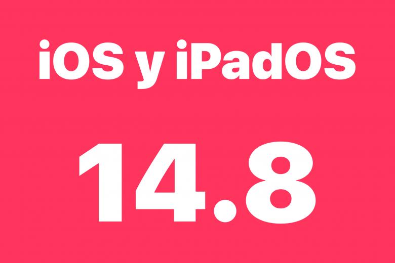 Actualización de software iOS 14.8 y iPadOS 14.8