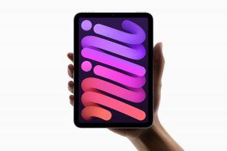 El nuevo iPad mini cuenta con una pantalla Liquid Retina más grande de 8,3 pulgadas y con bordes más finos