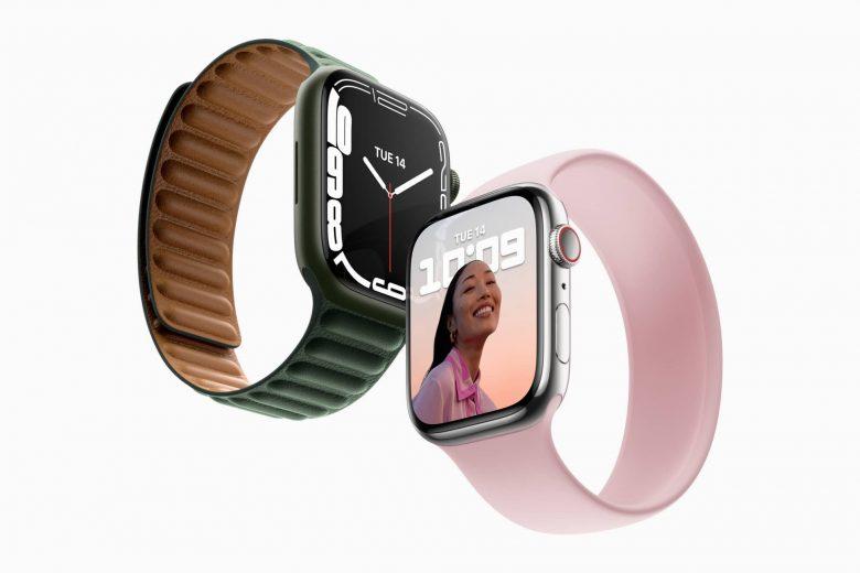 El Apple Watch Series 7 tiene una pantalla siempre activa más grande y con bordes más finos