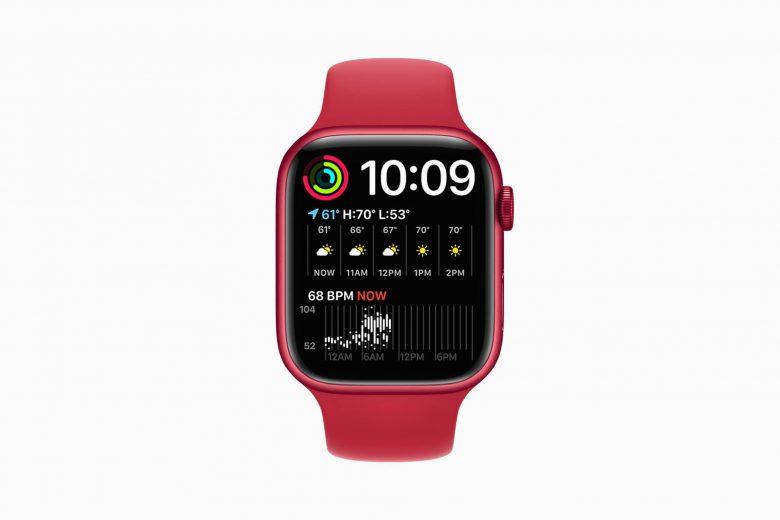 La nueva cara Modular Dúo del Apple Watch Series 7 aprovecha el espacio extra de la pantalla
