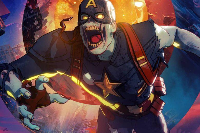 """Capitán América zombi en """"What If...?"""""""